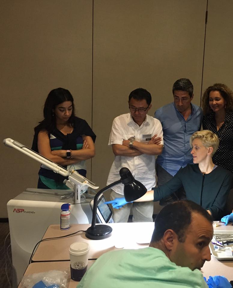 Dr Burke Learning how to perform a root canal with a Holistic approach from Dr Valery Kanter  https://drvaleriekanter.com/laser-dentistry