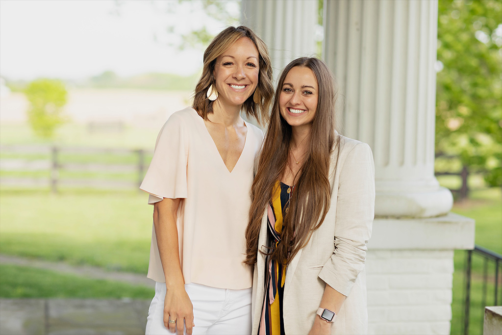 Realtor Meredith Tomlinson and Assistant, Kaleigh Gillum