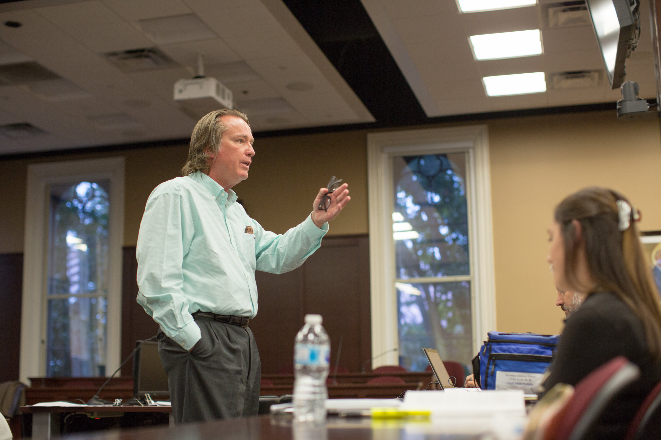 - Larry teaching Law Students at Lincoln Memorial University School of Law in Knoxville, Tennessee