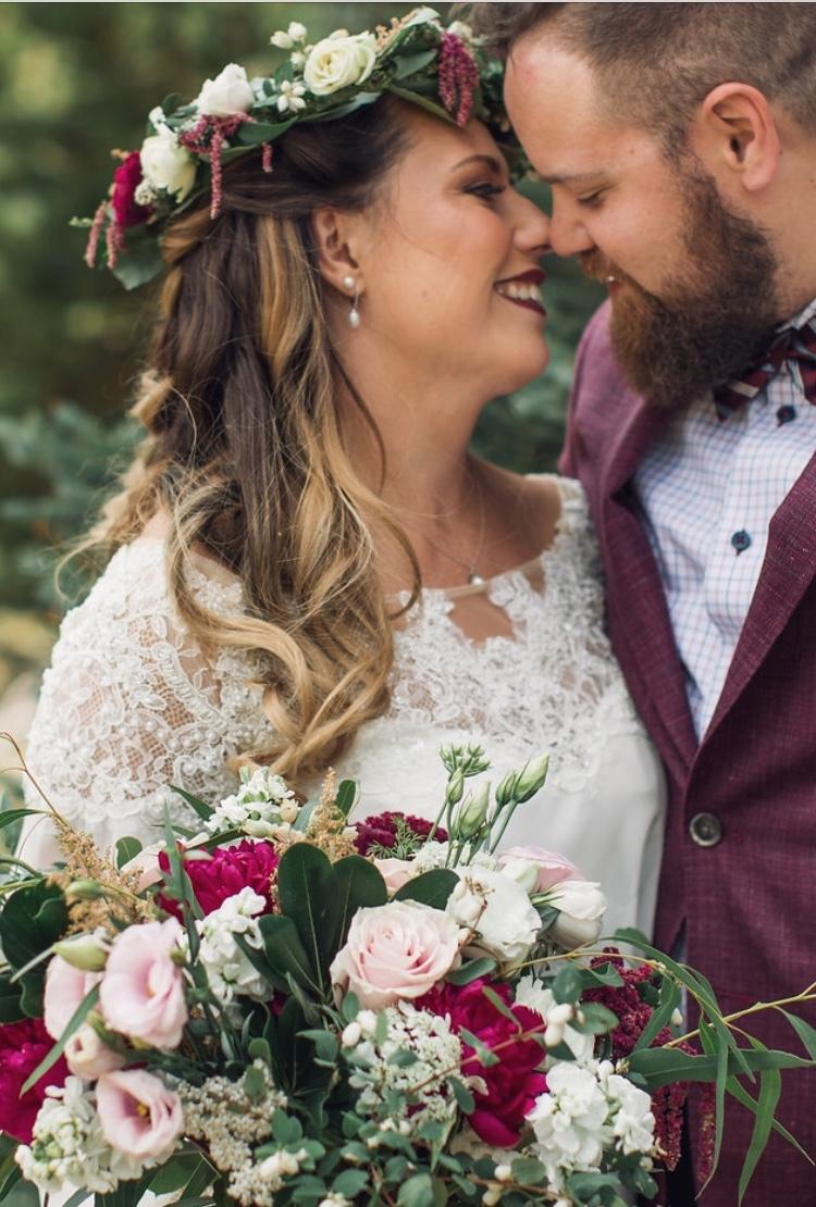 Bridal Bouquet & Halo