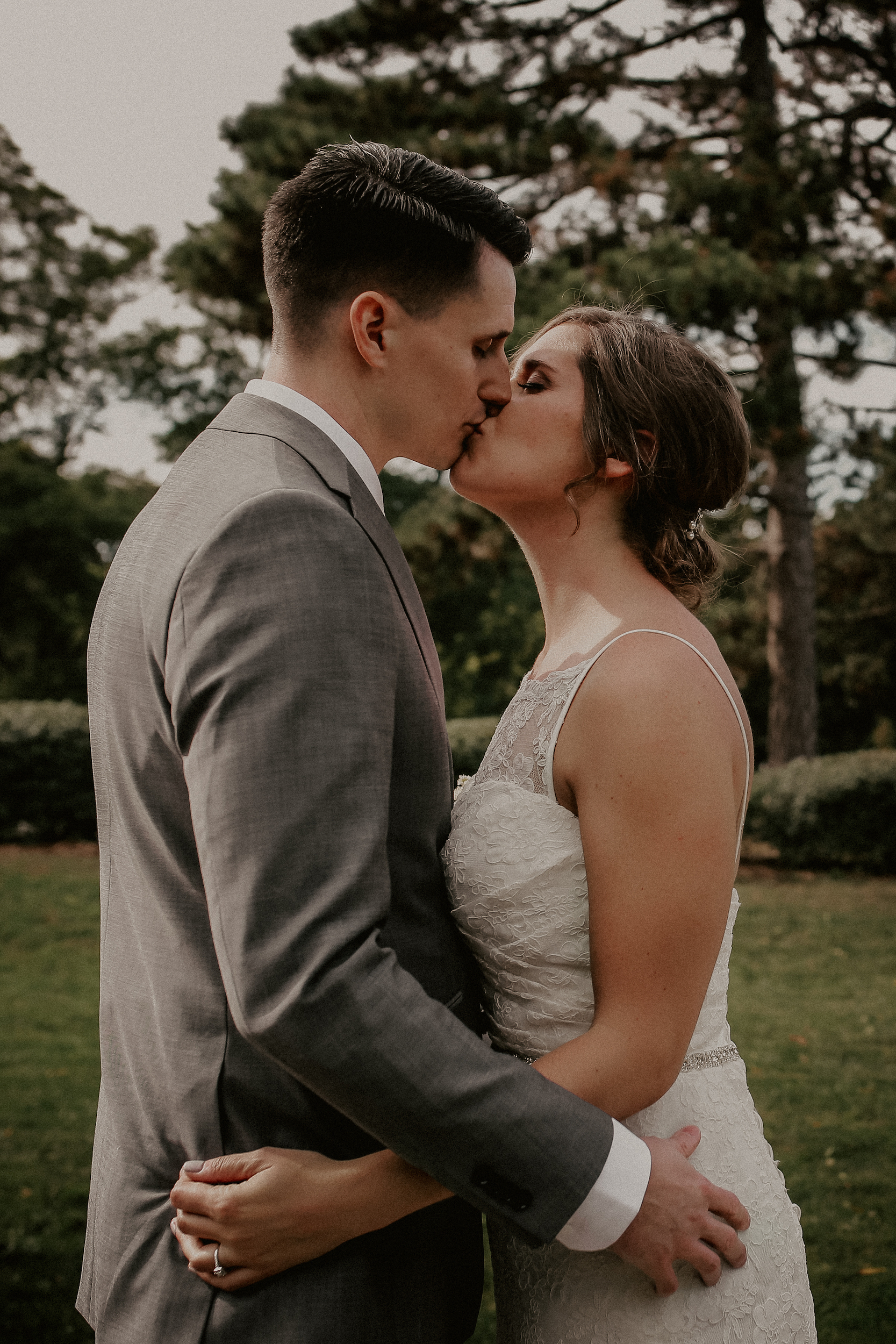 Karen + Eric - Wedding - Meaghan photographed our wedding in September 2018 and we couldn't have been happier with the way she captured our day! We were aiming to have a low-key wedding with focus on the limited number of family/friends in attendance and the little details we planned to make our day special. After meeting with her just one time, Meaghan totally got our vision and delivered exactly what we were looking for. (It was awesome to get the photos back as she managed to capture things we didn't even notice in the whirlwind of the day!)My husband and I were really nervous about looking too staged and awkward in our photos. Meaghan has this uncanny ability to make you feel comfortable without needing to say or really do much of anything. She has a very laid-back approach that almost made me wonder if she got any good shots. But when we got our sneak peaks and the full electronic album, we were blown away! She has a great eye for the perfect shot and balances very well between posed shots and candid moments. Meaghan captured memories we will cherish forever! If you're looking for a reasonably priced photographer to capture your day beautifully, look no further - Meaghan is your girl!