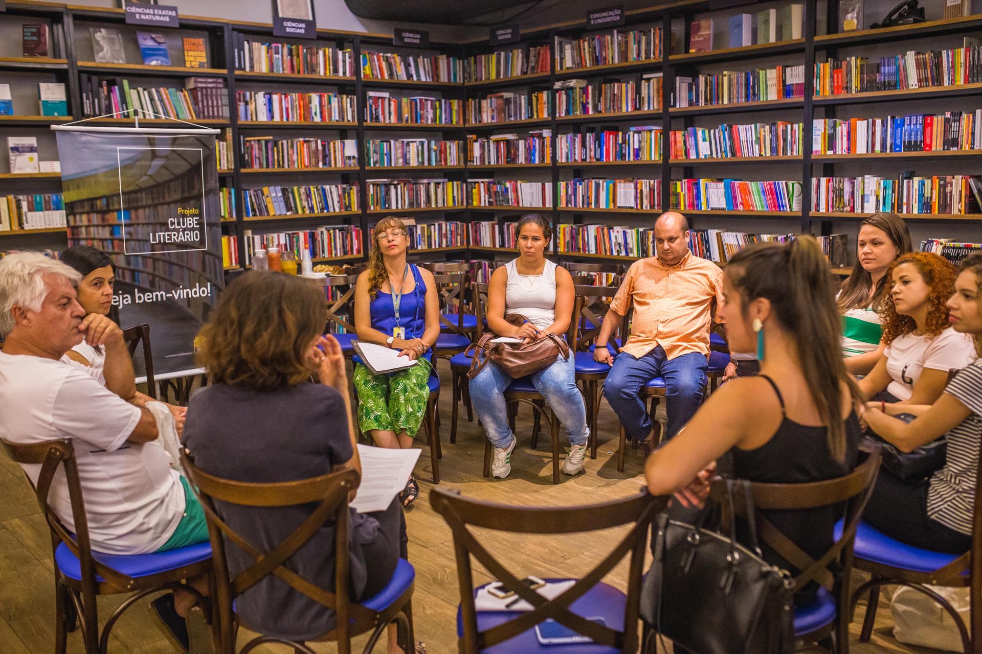 4º encontro do Clube Literário