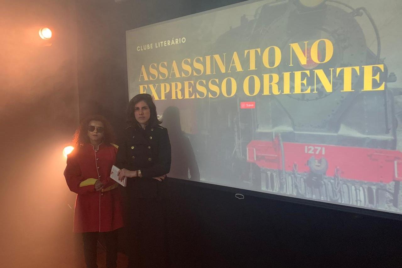 """""""Assassinato no Expresso Oriente"""", de Agatha Christie"""