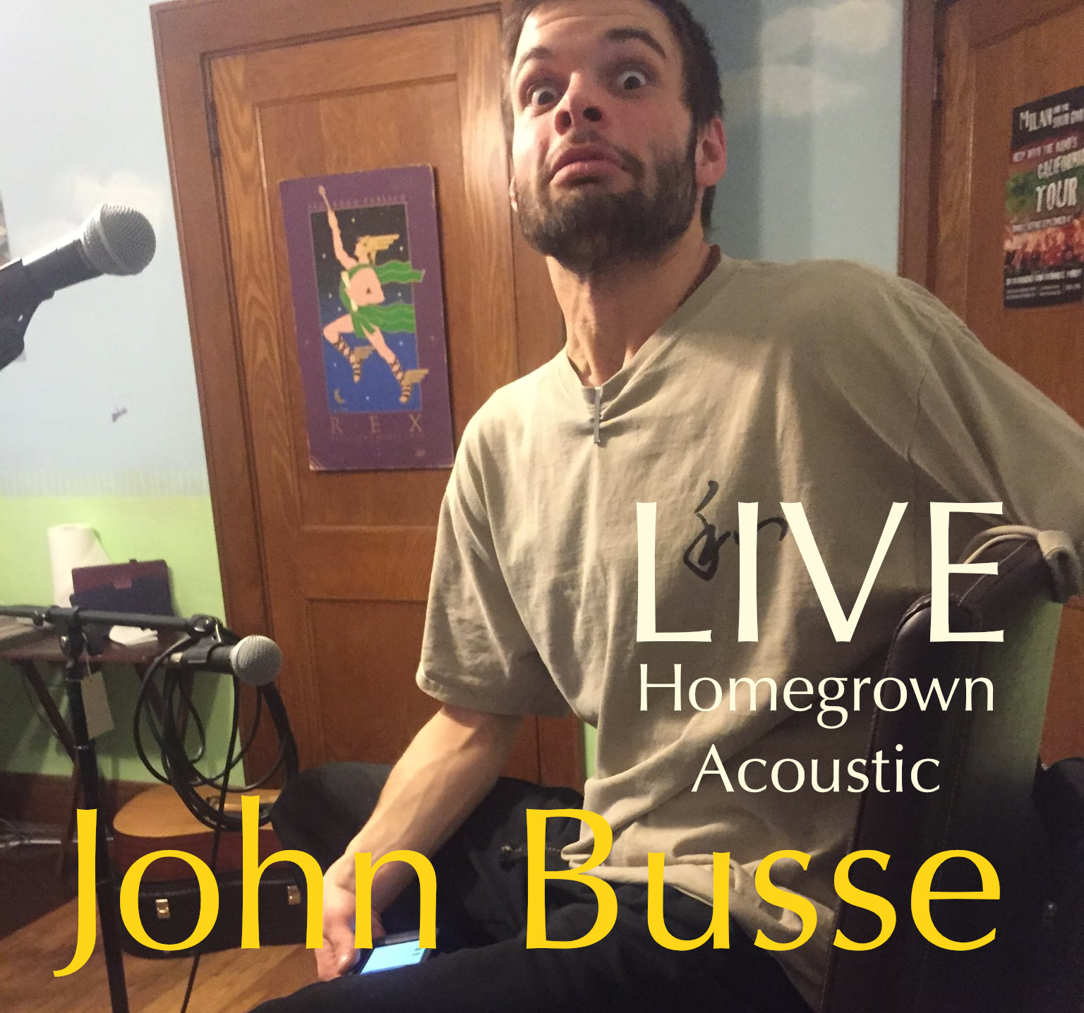 Homegrown LIVE - John Busse (2015)