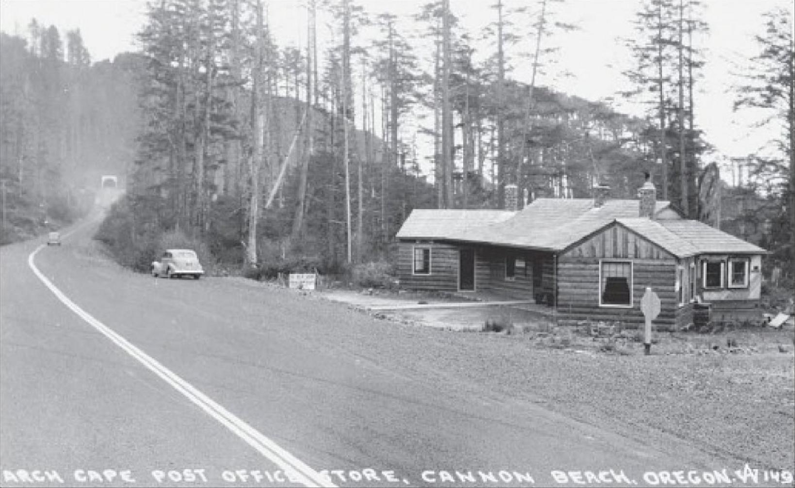 1940s Post Office Arch Cape Oregon Coast Inn at Arch Cape