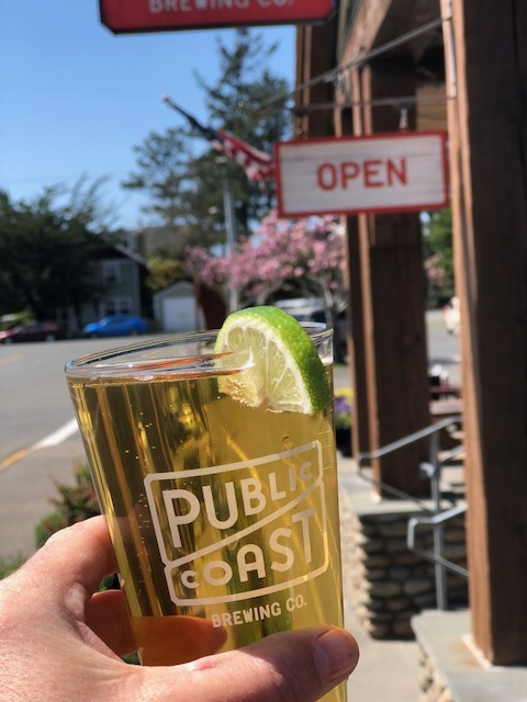 Public Coast is the perfect way to cap off an ambitious Cannon Beach pub crawl.