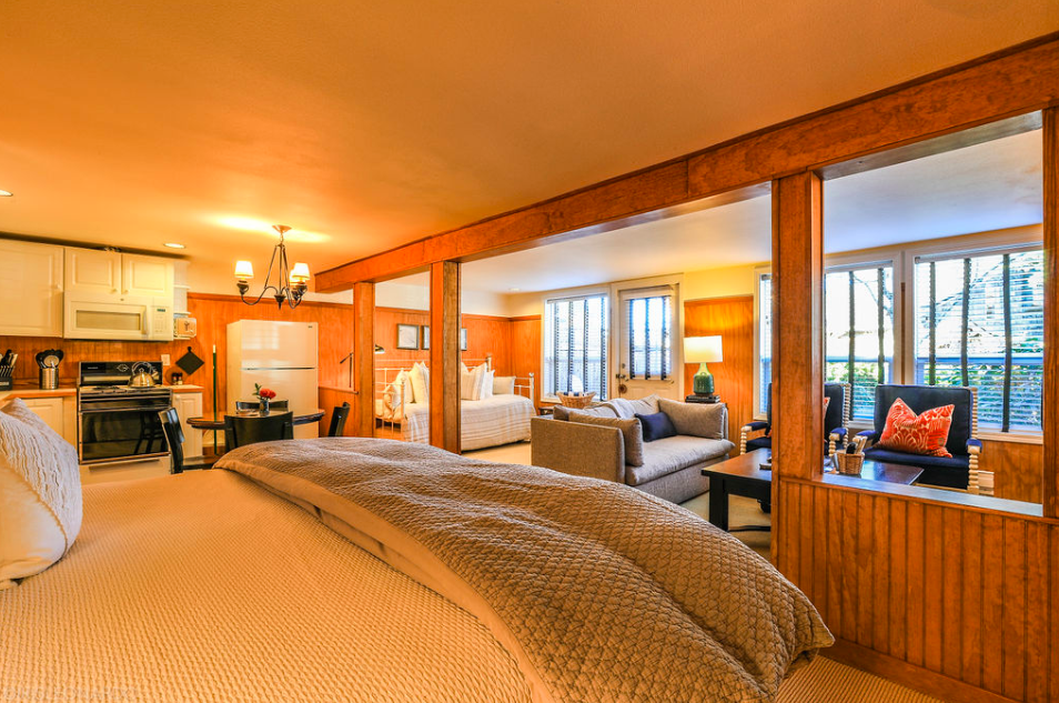 Hotels Near Cannon Beach | Room 6, The Inn at Arch Cape