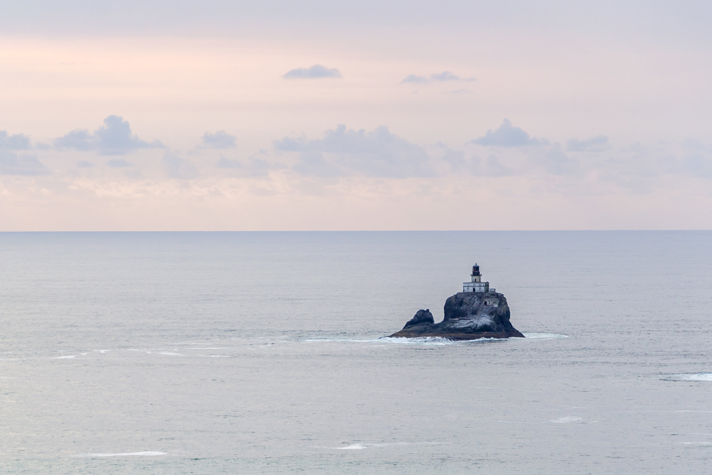"""The legendary """"Terrible Tilly"""" sits a mile off the coast of Cannon Beach, near Ecola State Park, on the Oregon Coast."""
