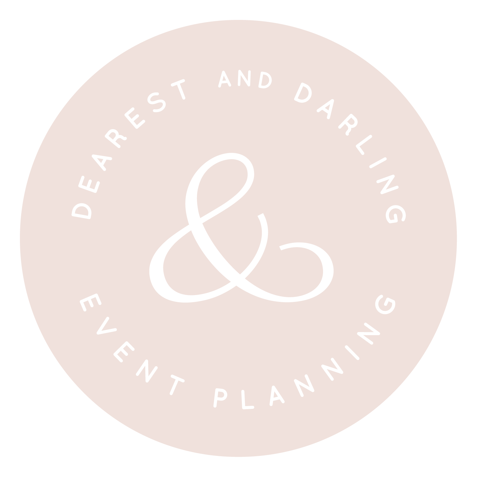 Dearest & Darling Event Planning Colorblock Submark