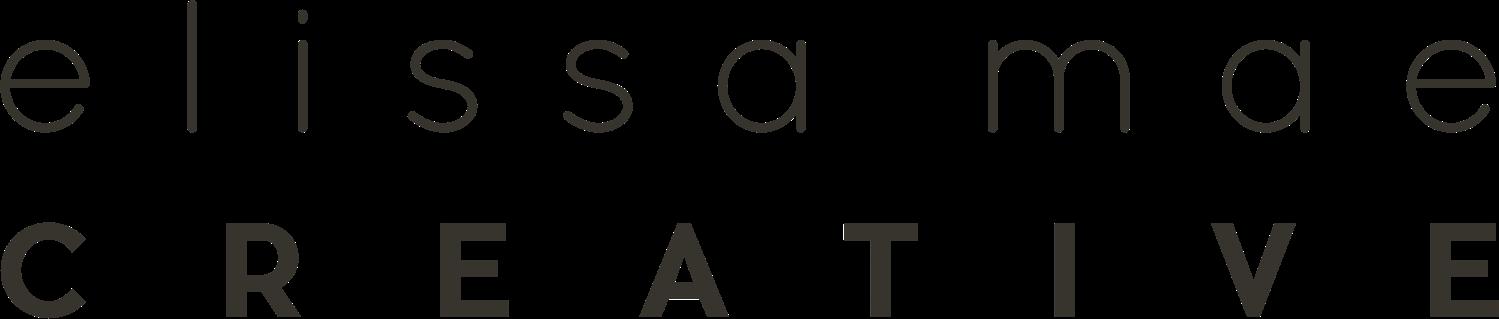 Elissa Mae Creative Primary Logo