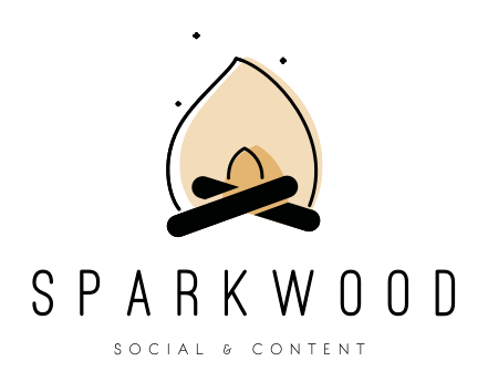 Sparkwood Social & Content Primary Logo