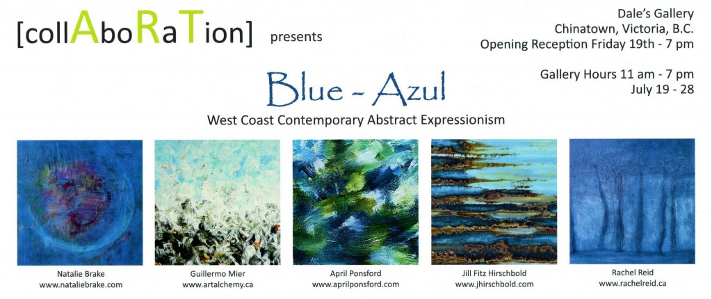 Various Artists - BLUE AZUL: WEST COAST CONTEMPORARY ABSTRACT EXPRESSIONALISM July 19 - 28 2013
