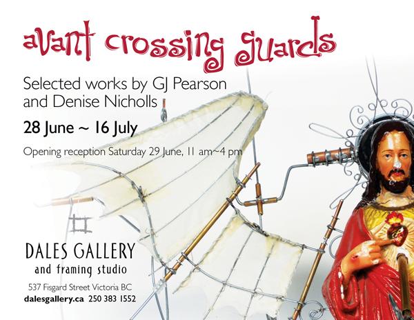 Denise Nicholls & GJ Pearson - AVANTE CROSSING GUARD June 28 - July 16 2013