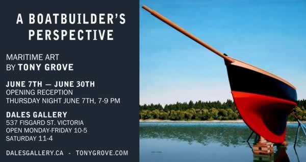 Tony Grove - A BOATBUILDER'S PERSPECTIVE Oct 25 - Nov 25 2012