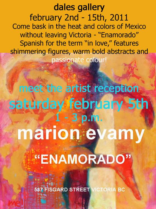 Marion Evamy - ENAMORADO Feb 2 - 15 2011