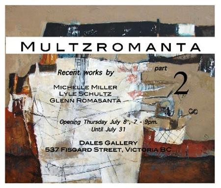 Michelle Miller, Lyle Schultz & Glenn Romasanta - MULTZROMANTA July 1 - 31 2010