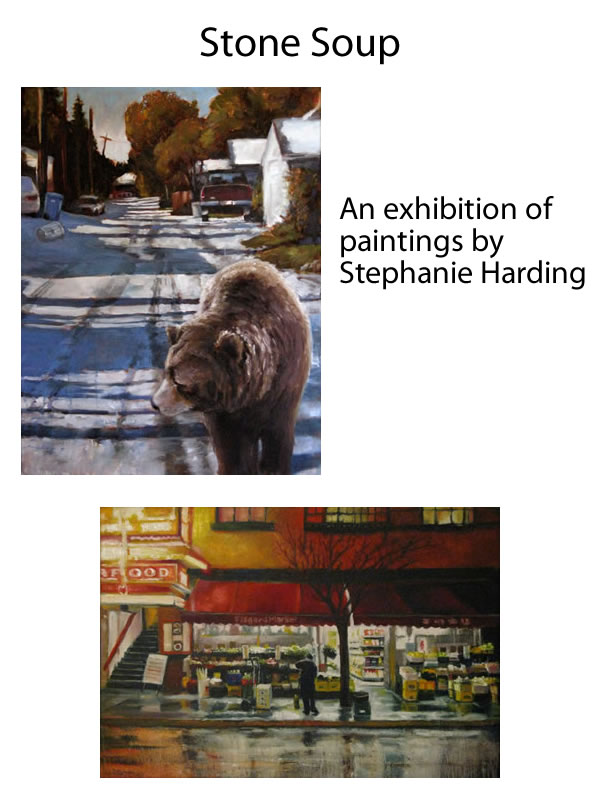 Stephanie Harding - STONE SOUP Jan 2 - 29 2010