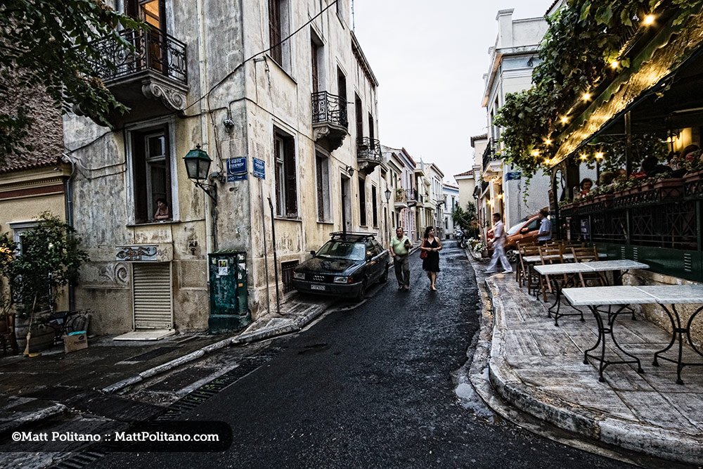 Matt Politano - SIDE STREETS & ROADS LESS TRAVELLED Mar 5 - April 1