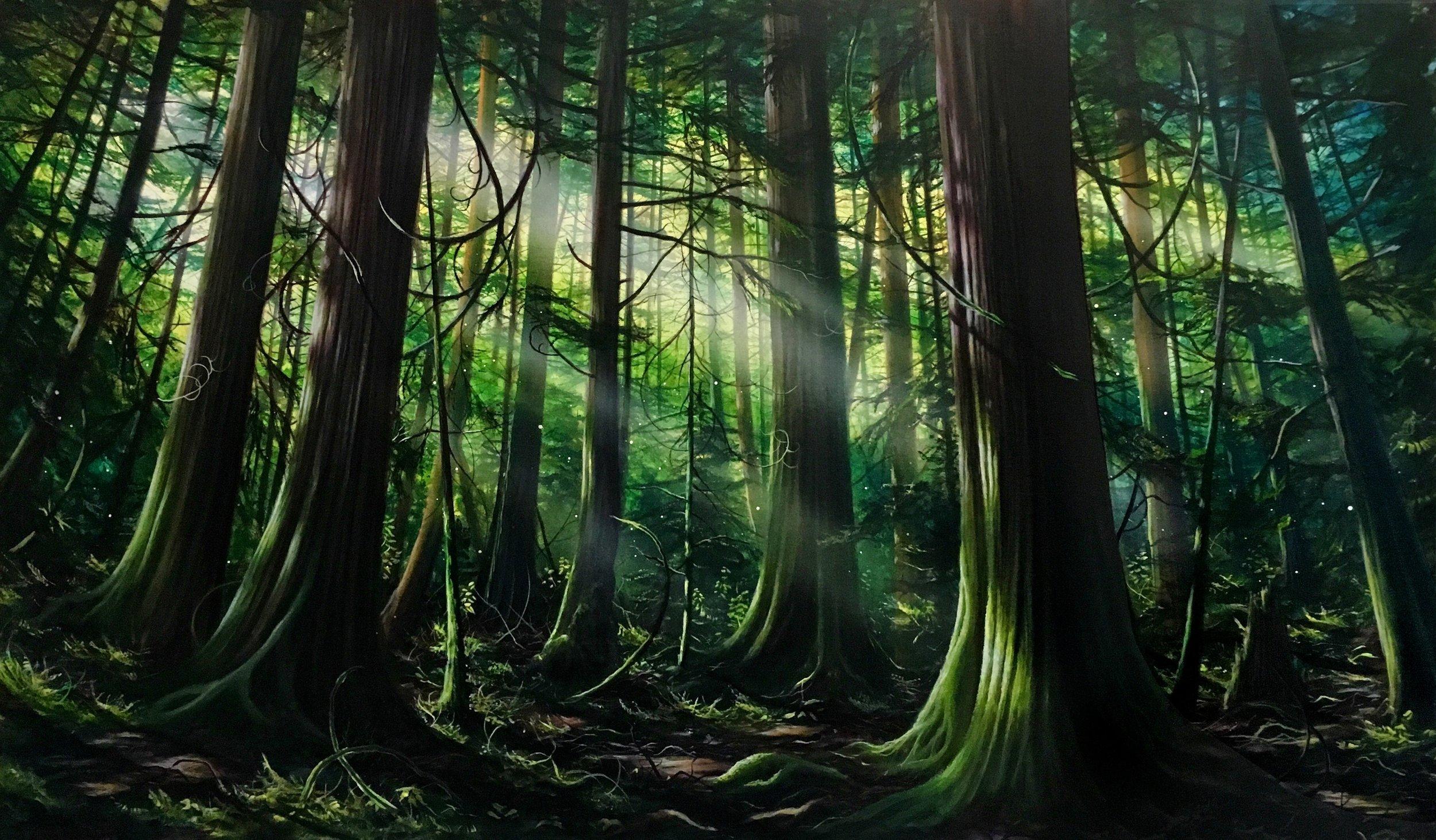 RAINFORESTS & MYTHOLOGY - LOGAN FORD & LIZ DEMPSEYOctober 18th - November 14th 2018