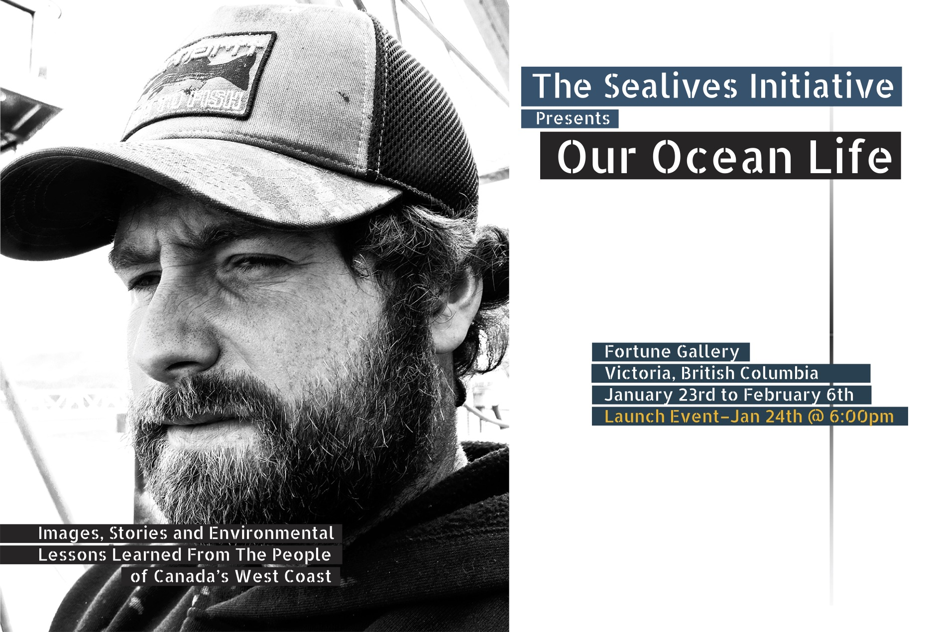 The Sealives Initiative - Our Ocean Life - January 23rd - February 6th