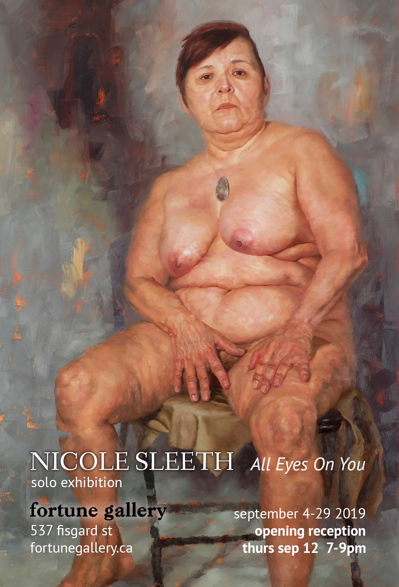 ALL EYES ON YOU - Nicole Sleeth - September 4 - 29th, 2019