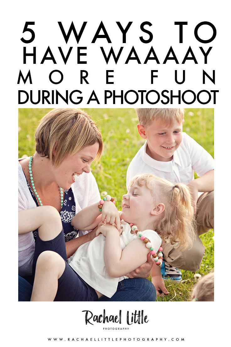Five tips for a fun family photography session in Woodstock, Ontario.