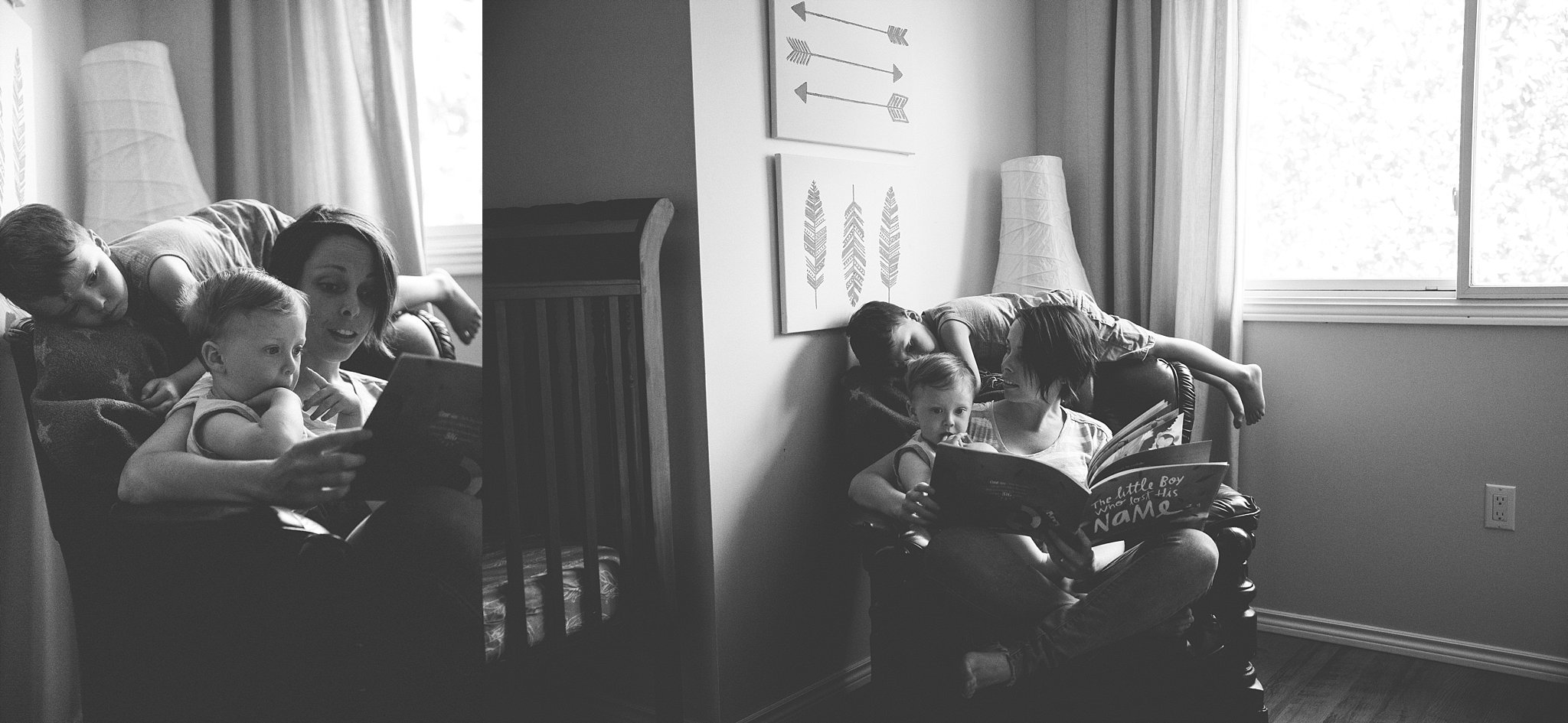 Story Time with Mom. Photographed by Rachael Little Photography in Woodstock, Ontario.