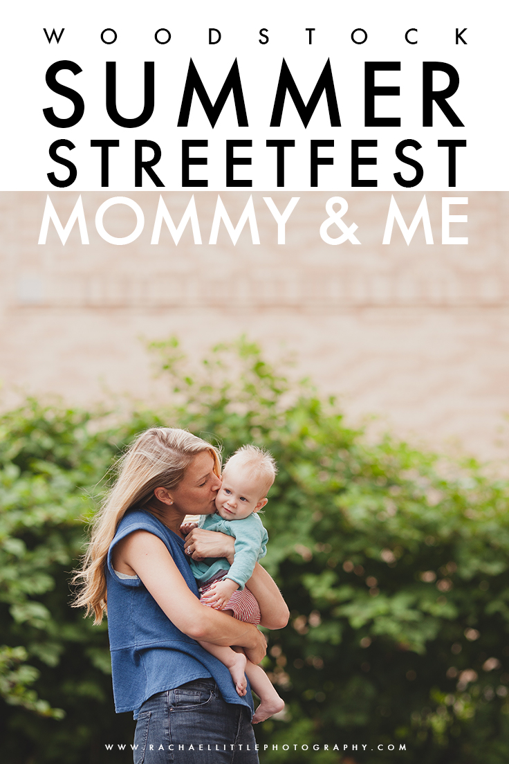 Mommy and Me Sessions hosted by Baby Bumpz in Woodstock, ON.  Photography by Rachael Little Photography at Streetfest in Woodstock.