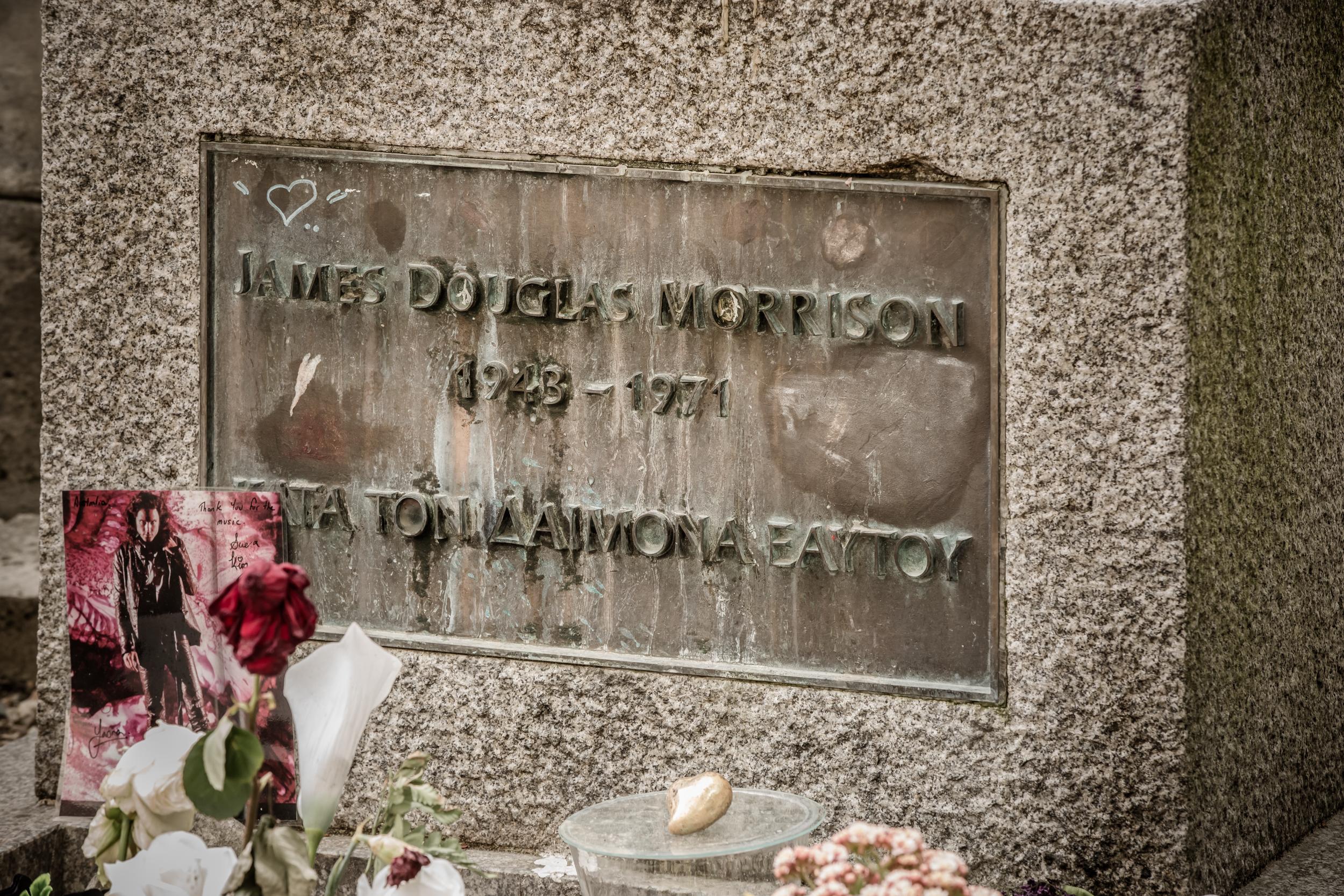 Jim Morrison's Grave