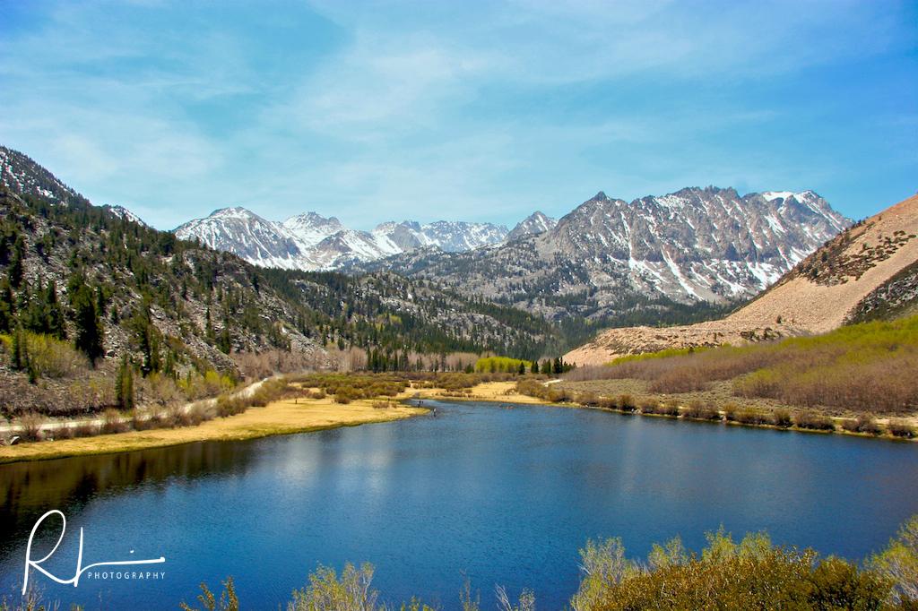 South Lake in the Sierra Nevada range