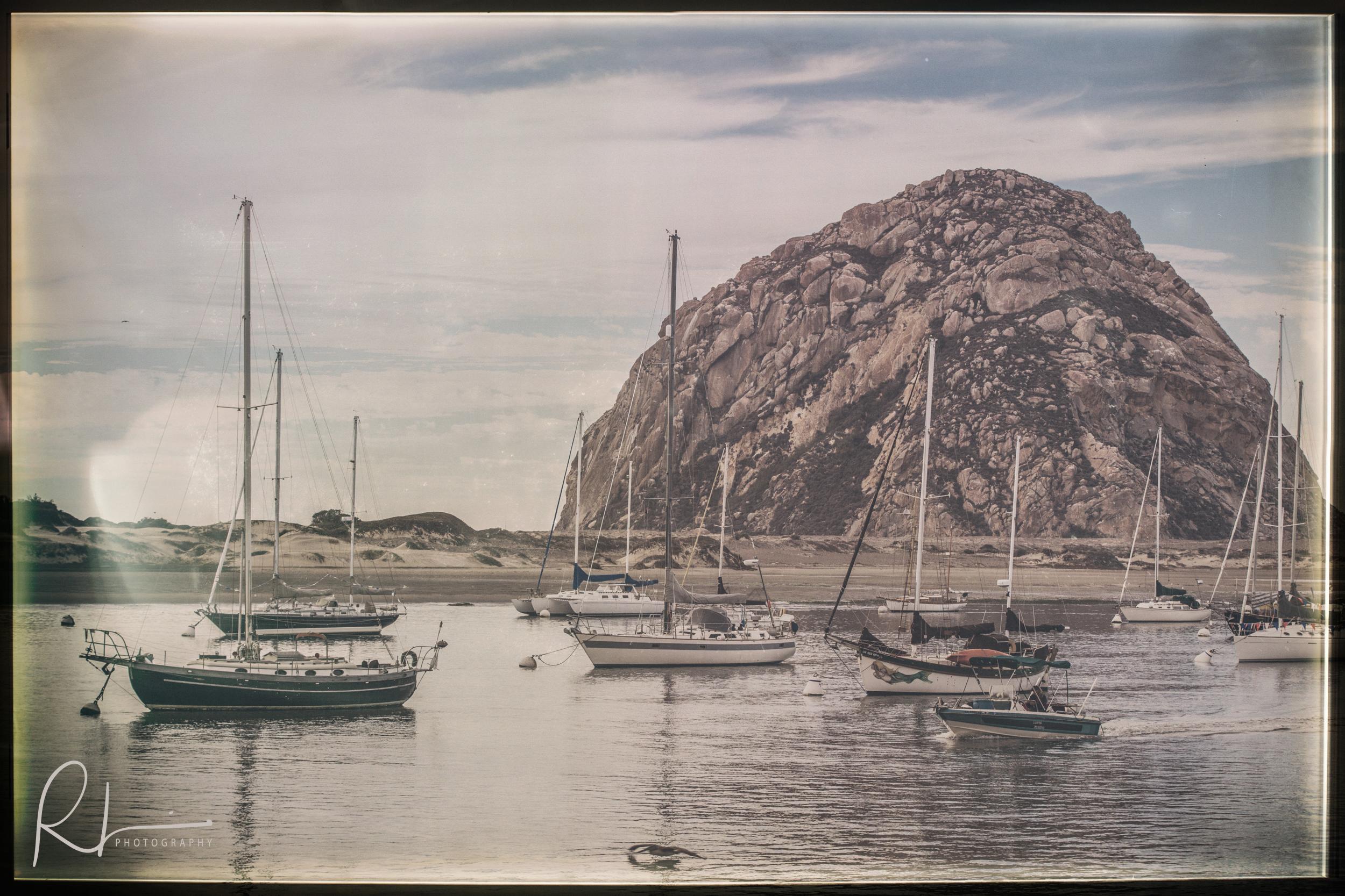 Harbor at Morro Bay