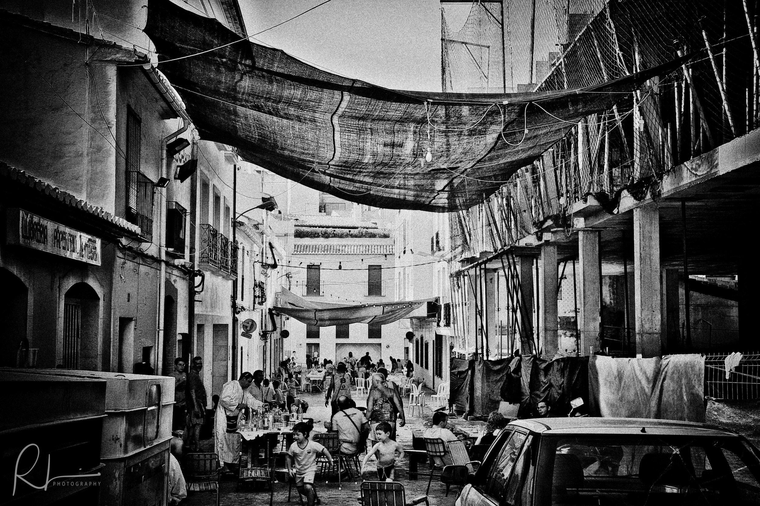 Benissa street scene