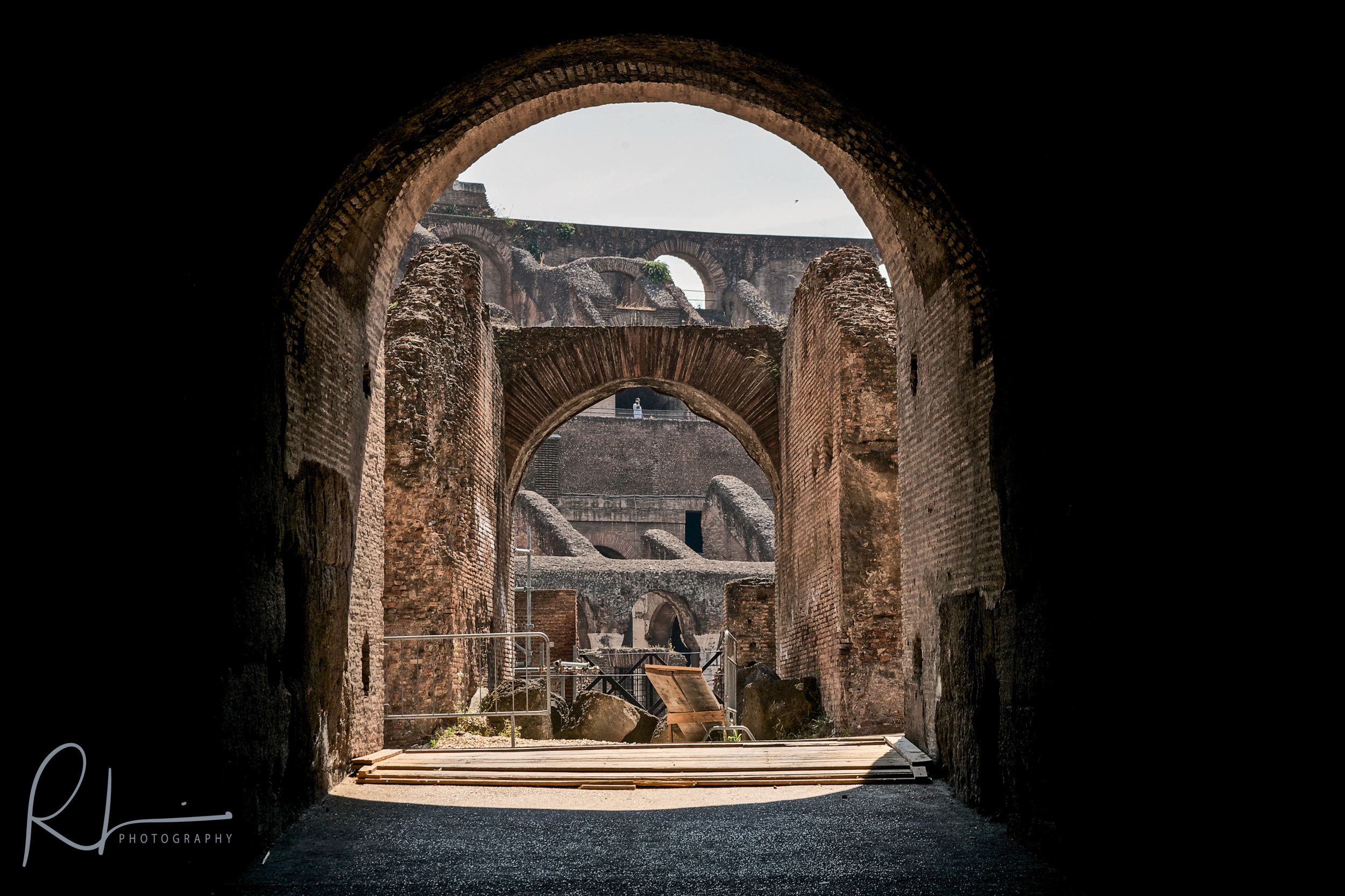 Colosseum entry arch