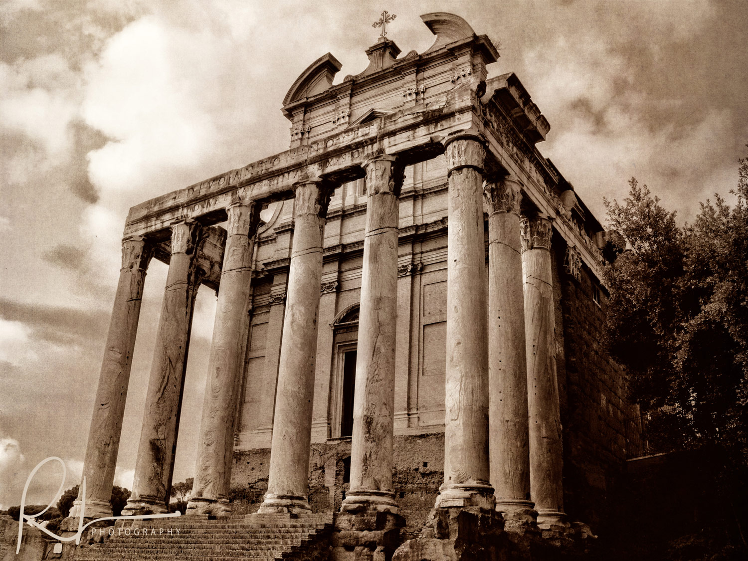 Antoninus and Faustina Temple