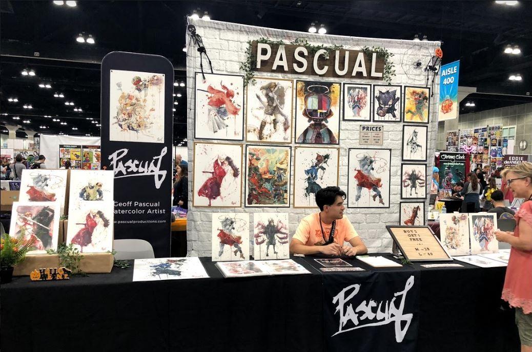 LA Comic Con 2018 (2 AA tables 12ft. total)