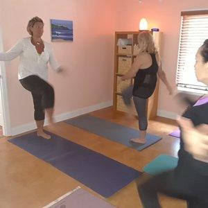 Me, teaching Energy Exercises