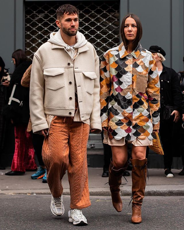 Outside of @thombrowneny  PARIS FASHION WEEK F/W19  #caughtbyjustin