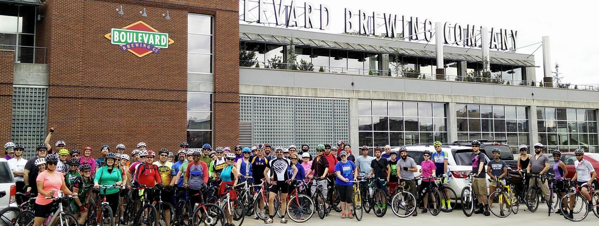 City Wide Bike Ride in the West Bottoms -  KC Fun Ride , Bike Walk KC , 816 Collective    Friday April 27, 2018  - Liberty Courtyard Hobbs Building