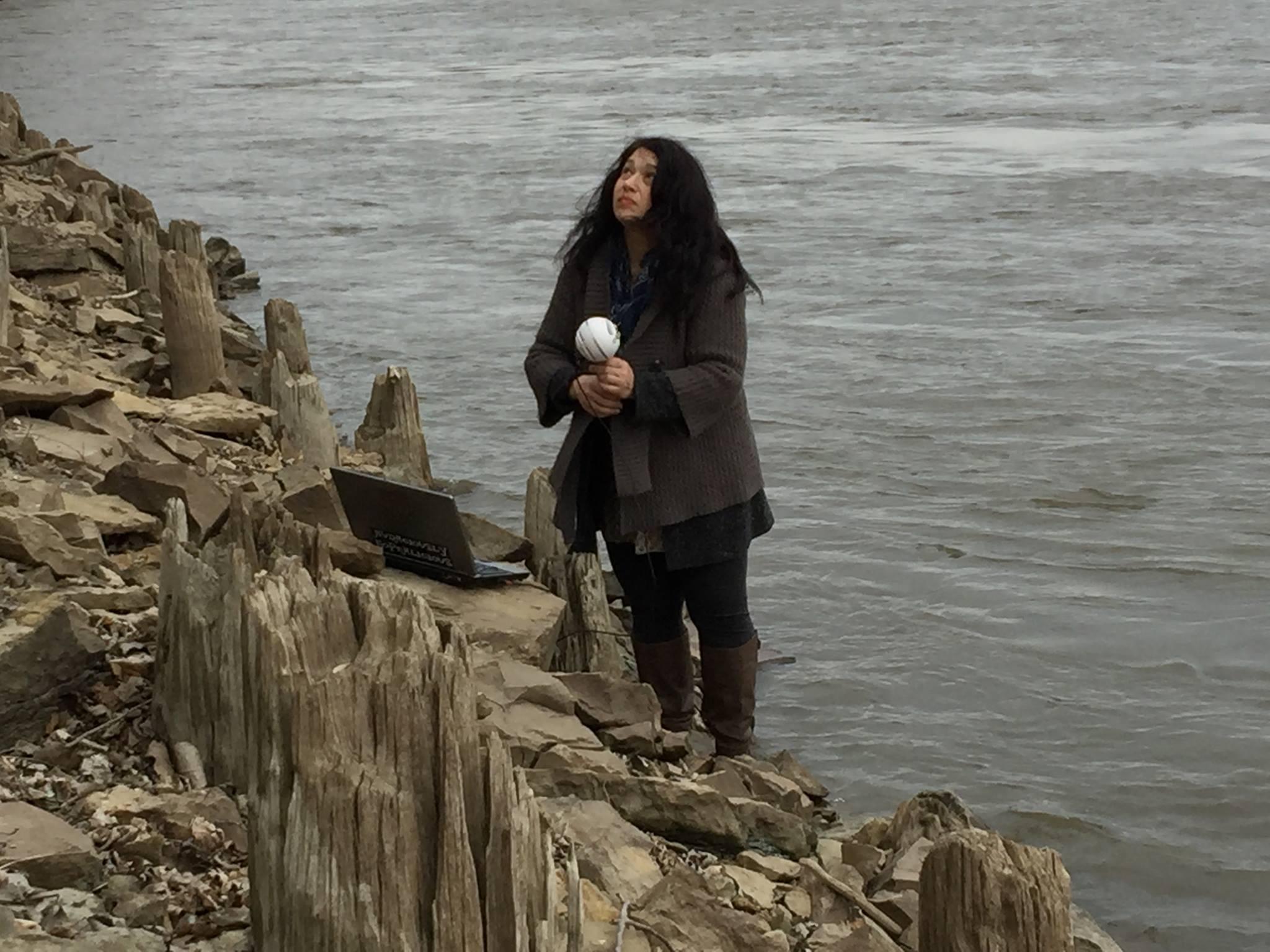 Weaving the River, Jen Apell