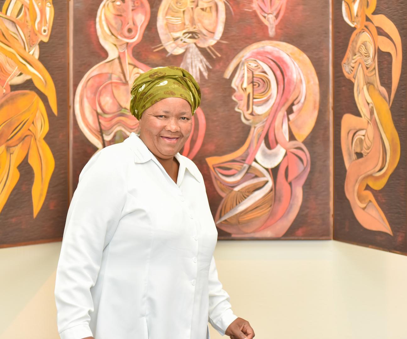 Doris Kunene - Cleaner / Messenger