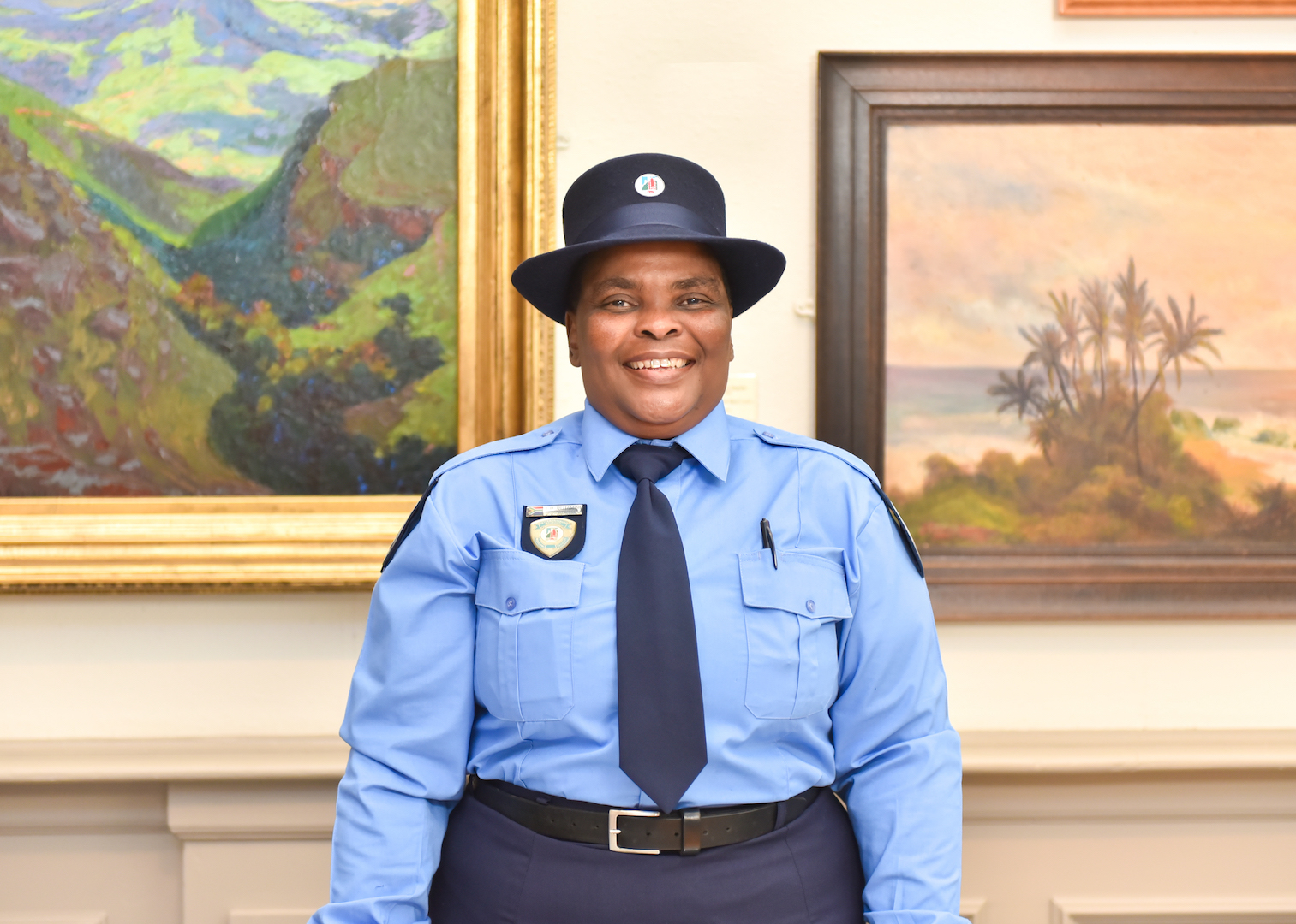 Lindiwe Dhlamini - Security