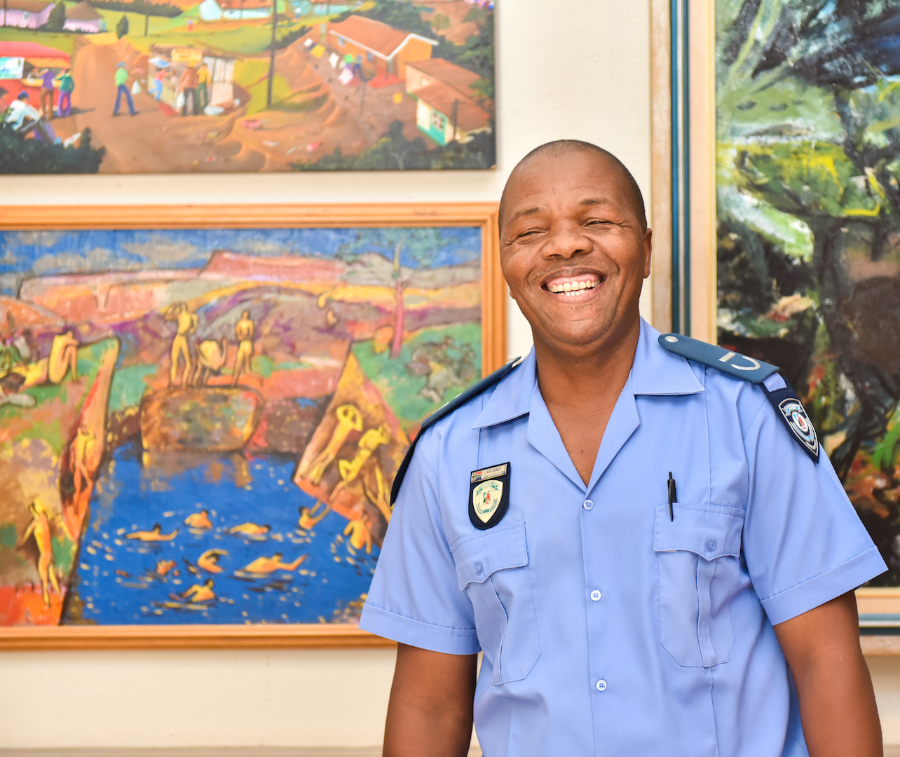 Vusi Shezi -Security
