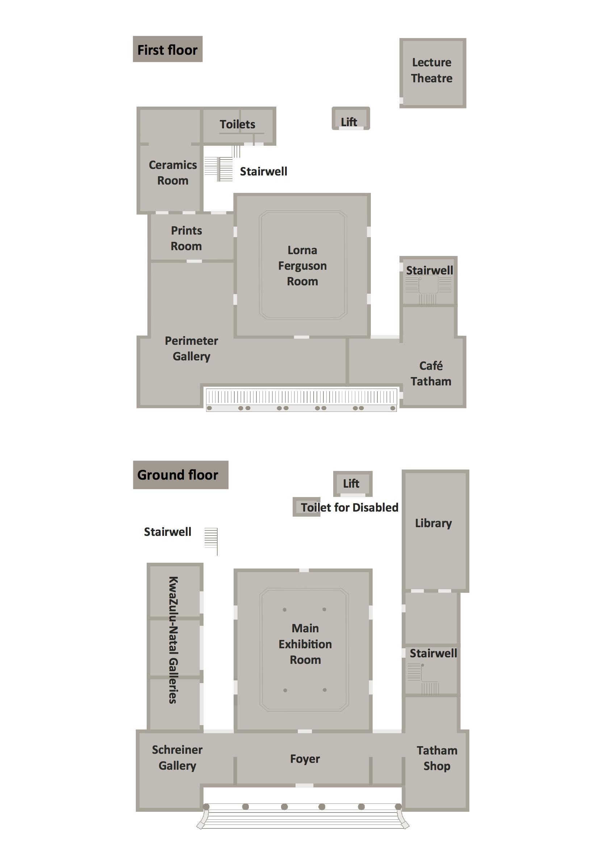 Tatham Art Gallery - Floor Plan