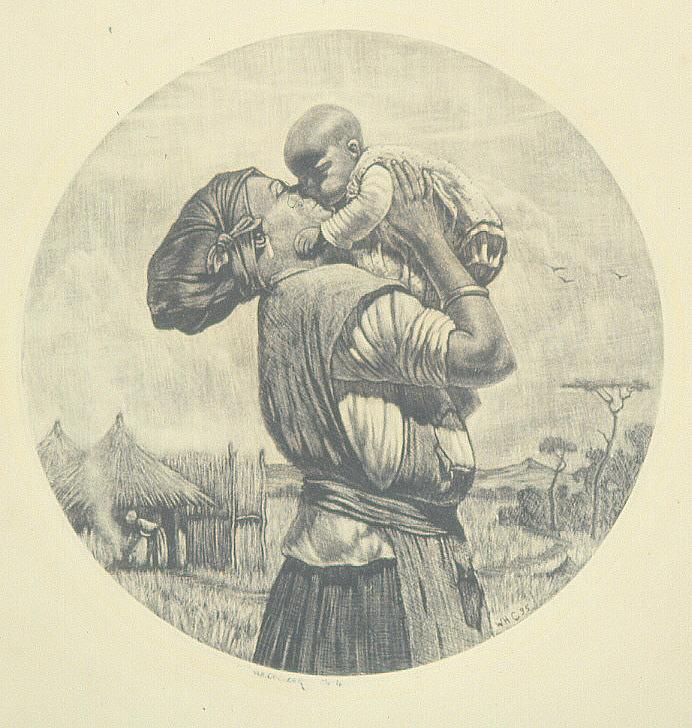 W.H. Coetzer (1900-1983), Untitled (1935), etching