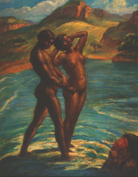 Alfred Martin (1874-1939),  Untitled , oil on board