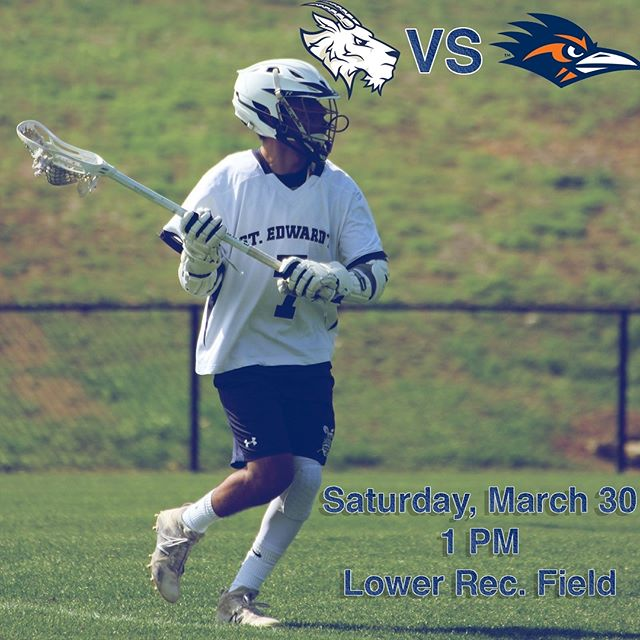 TOMORROW🚨🗣 Join the #GoatsLax for their final regular season game. Show your fellow Hilltoppers some love tomorrow at 1 PM!