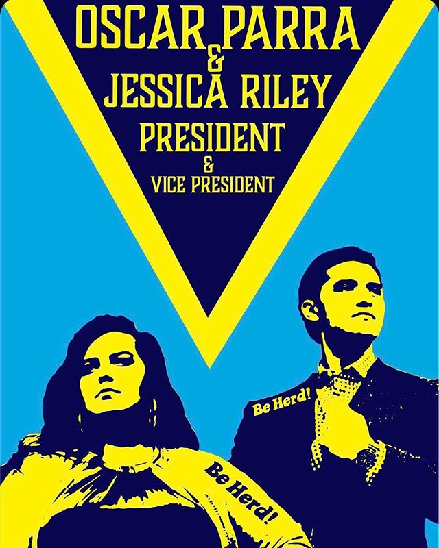 We officially endorse one of our very own Lacrosse players, Oscar Parra, and his running mate Jessica Riley for student government President and Vice President. Please vote on the bit.ly located in our bio #beherd #OscarandJess2019