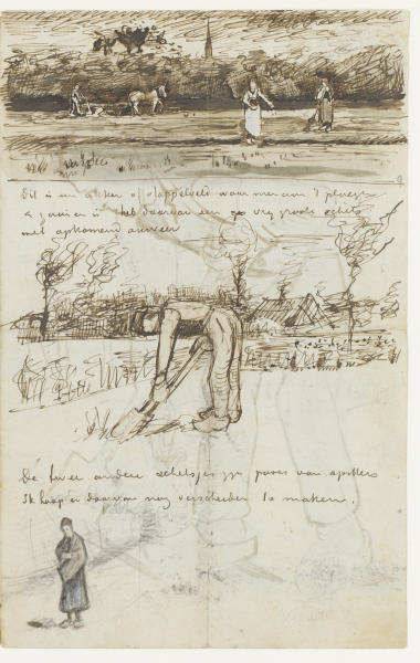 From the Van Gogh Museum, archived letters