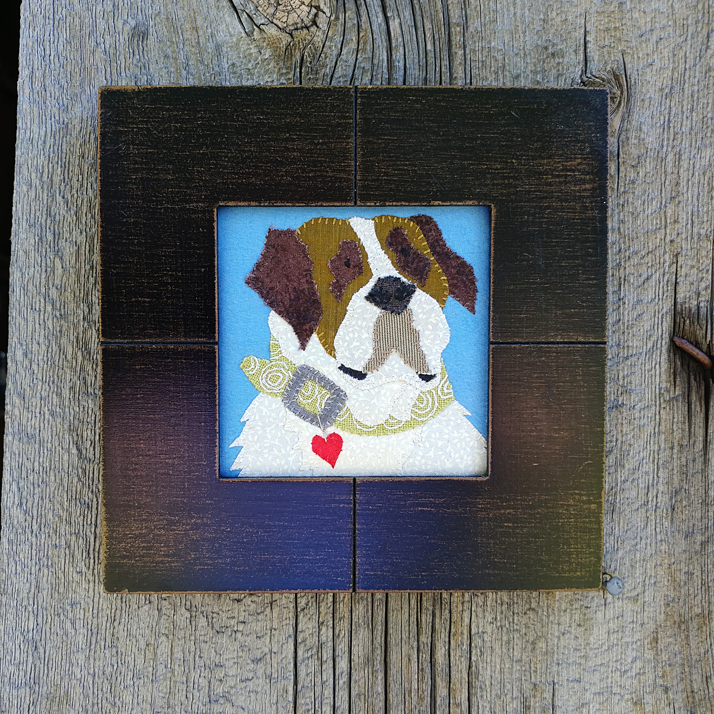 St. Bernard Wall Hanging…$40US(from $55)