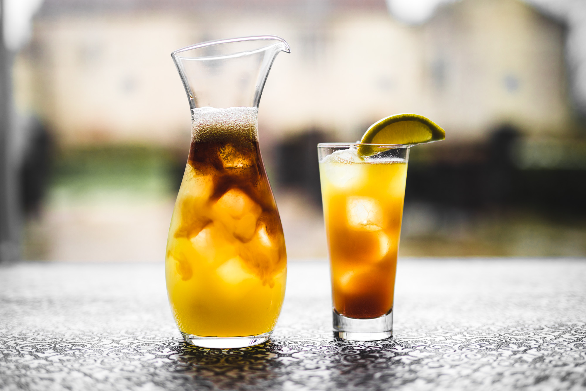 Long Island Iced Tea - This one means business.